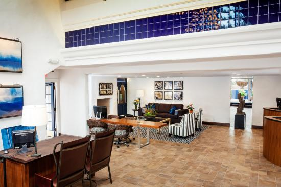 Hotel Pacific: Lobby/ Reception