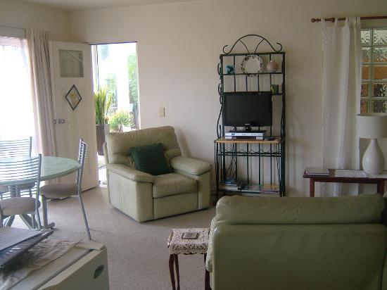 Ivanhoe Holiday Suites: Kowhai suite lounge