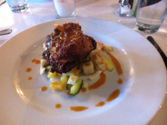 """Blue Eyed Marys: Two chicken thigh """"meal""""!?."""