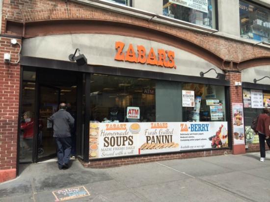 picture of zabar deli gourmet foods new york city tripadvisor