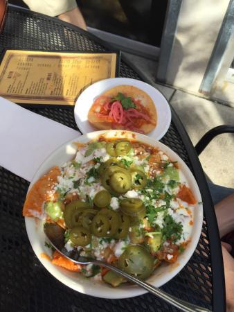 Brasa Rotisserie St. Paul: Chorizo-Potato Chilaquiles