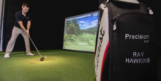 Precision Golf: Indoor Golf Simulators for Entertainment
