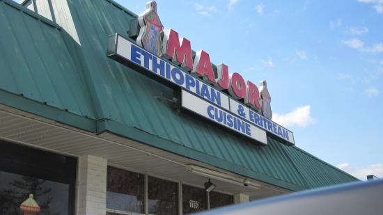 Major Restaurant: Sign