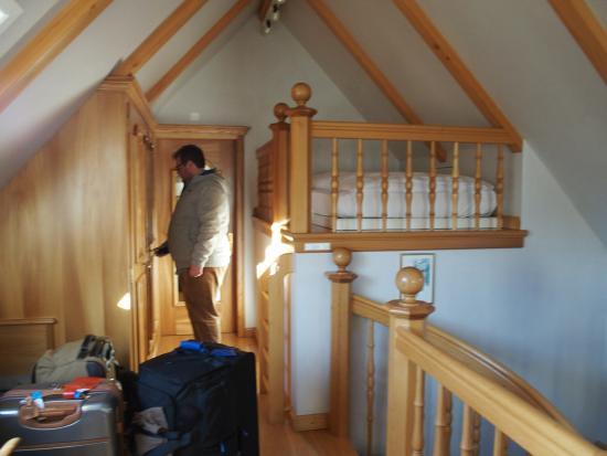 Santis, Romantik Hotel: Sleeping quarters for our son