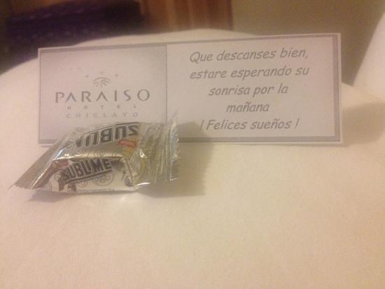 Hotel Paraiso: Mensajes