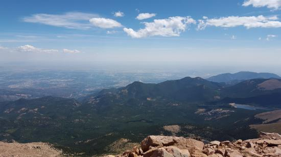 Woodland Inn Bed and Breakfast: Pike's Peak is a must. Take the Cog Railway to the top.