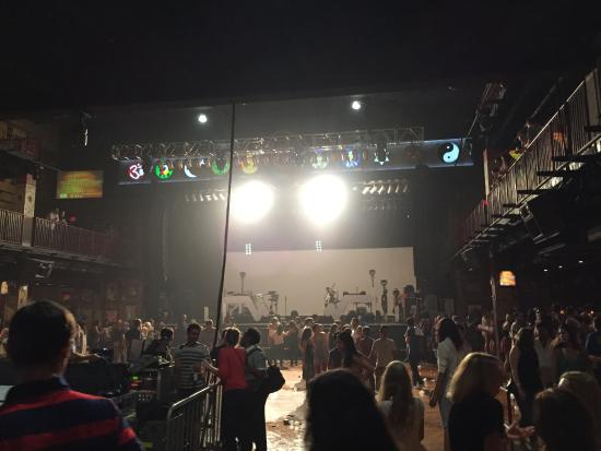 View from the balcony - Picture of House of Blues Boston ...