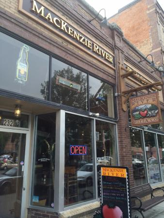 MacKenzie River Pizza Co -- Downtown Bozeman: Storefront