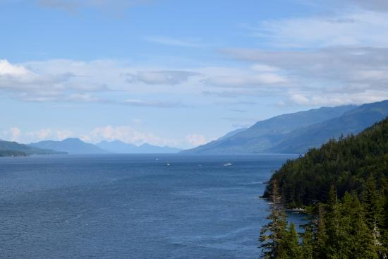 Nanaimo, Canada: Looking down the Strait
