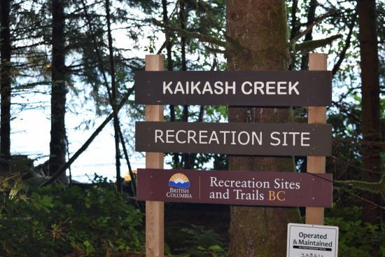 Nanaimo, Canadá: Our Campsite