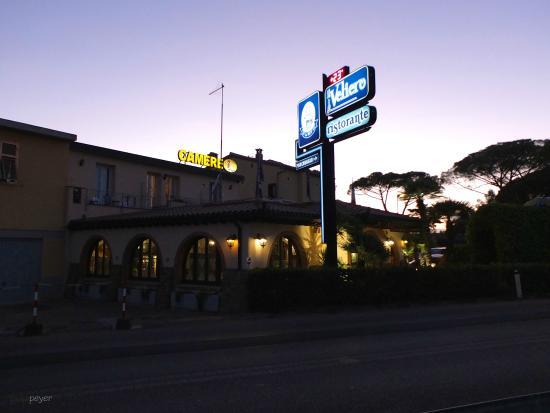 Ristorante Il Veliero: Aussenansicht - Blickrichtung Westen