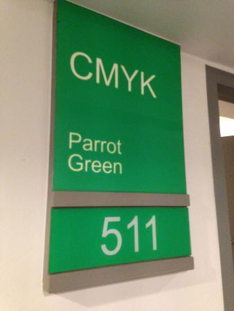 Myhotel Cmyk@Ratchada: Room numbers