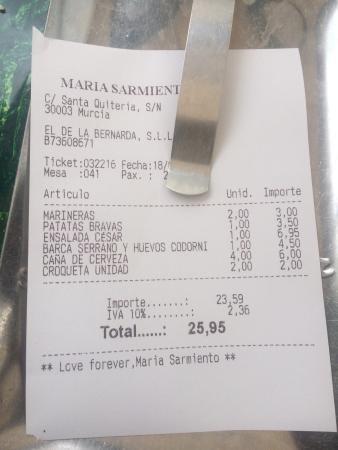 Maria Sarmiento: Buenas patatas bravas...