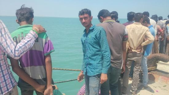 Beyt Dwarka Beach : Essar jety,vadinar