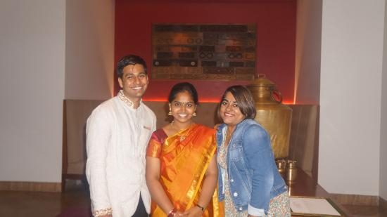 At the Dining - beyond madras theme