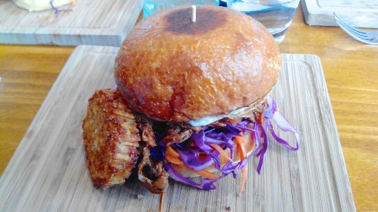 Rowville, Australia: The Brekky Burger