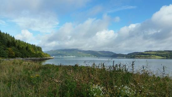 Tregortha Bed & Breakfast : Tighnabruaich from the Cowal