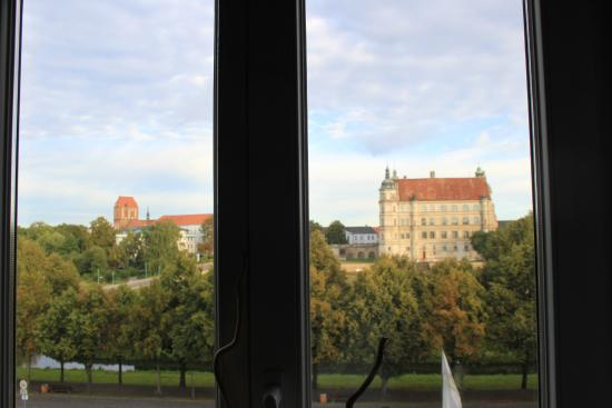Hotel am Schlosspark: Das ist ein Blick ....