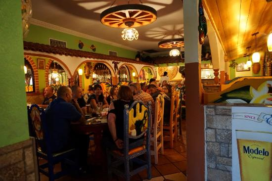 Guadalajara Mexican Restaurant Interior