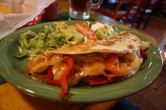 Guadalajara Mexican Restaurant Shrimp Quesadilla