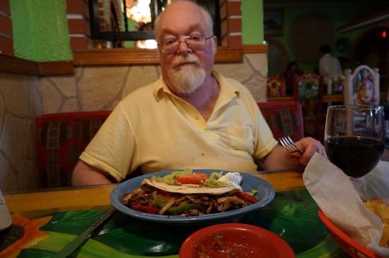 Guadalajara Mexican Restaurant A Hy Guest With Its Food