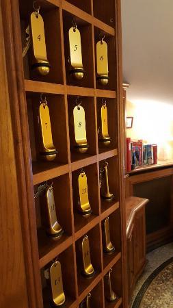 Hotel du Parc: Porte clés tradition