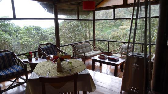 Pachijal Reserva Ecologica: La saletta posteriore