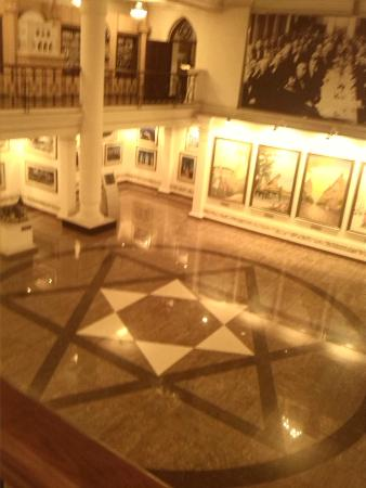 Architectural Museum: Centrale hal van het museum