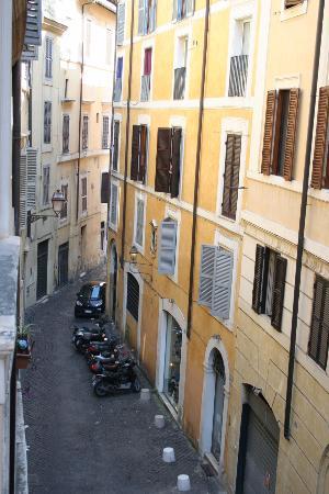 Palazzo Olivia: Вид из окна