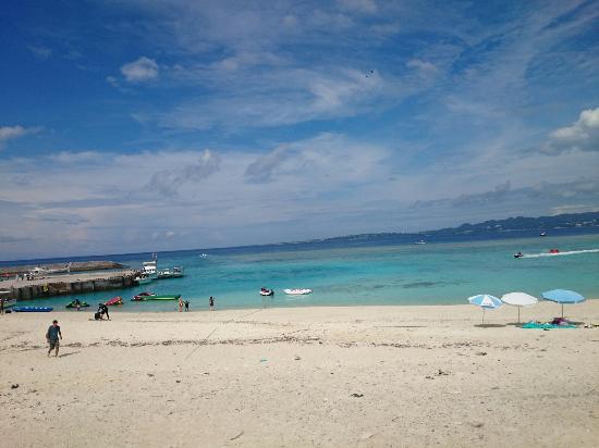 サンゴ礁の楽園;水納島 - Picture of Minna-jima Island, Motobu-cho ...