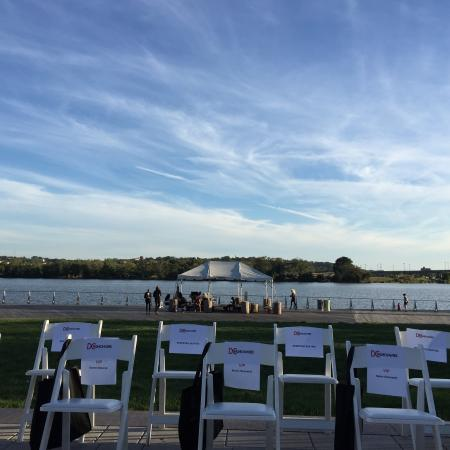 The Yards Park: Capitol Riverfront, opening night of DC Fashion Week, 2015
