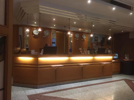 Kranz Parkhotel: The reception area