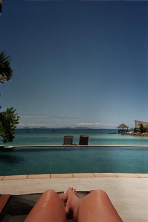 Likuliku Lagoon Resort: The infinity pool