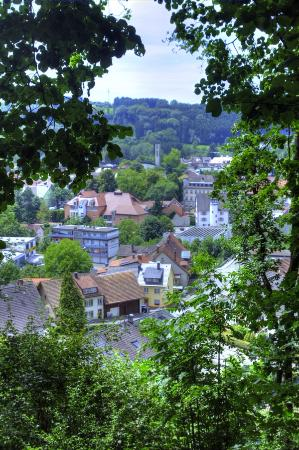 Wehr, Deutschland: View over the city