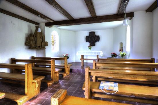 Todtmoos, Germany: Inside the chapel