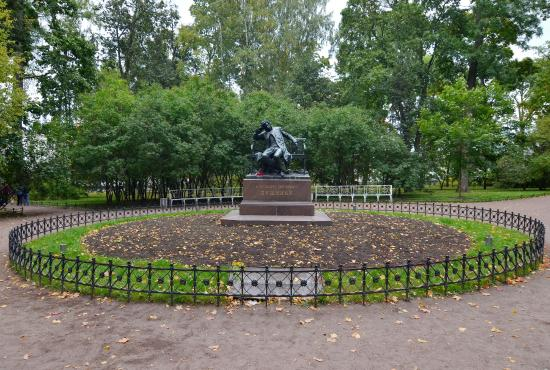 Monument to Pushkin-Lyceum Student