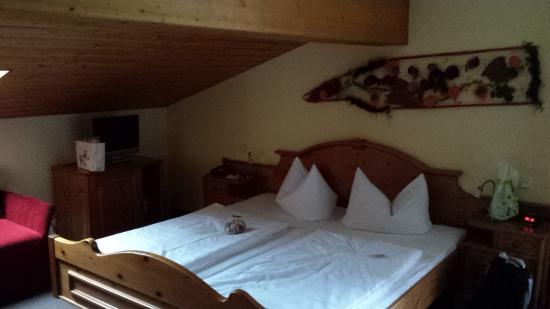 Hotel Zum Postillion: Zimmer unterm Dach