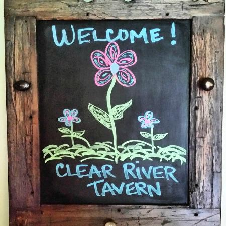 ‪‪Pittsfield‬, ‪Vermont‬: Welcome to the Clear River Tavern‬
