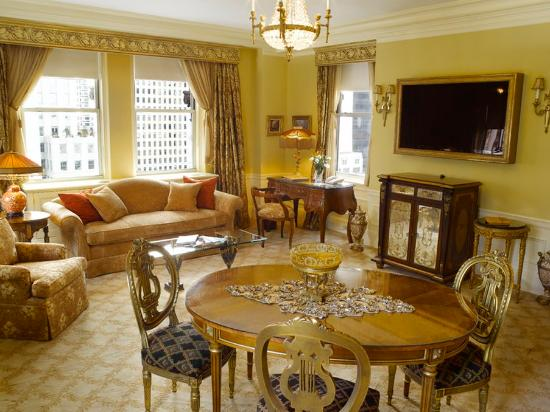 The Sherry-Netherland Hotel: City View Suite 1909 Living Room