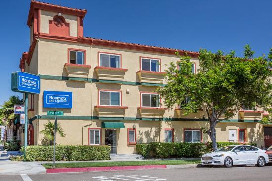 Rodeway Inn & Suites Pasadena: Exterior