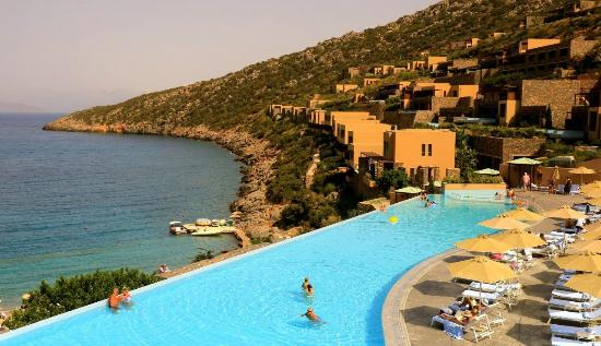 Infinity Pool Picture Of Daios Cove Luxury Resort Villas Agios