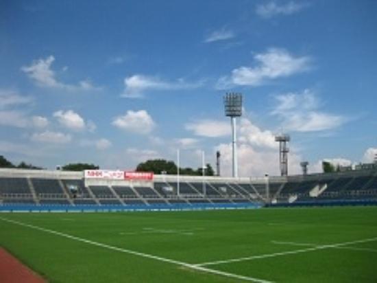 Mitsuzawa Park : 三ツ沢球技場