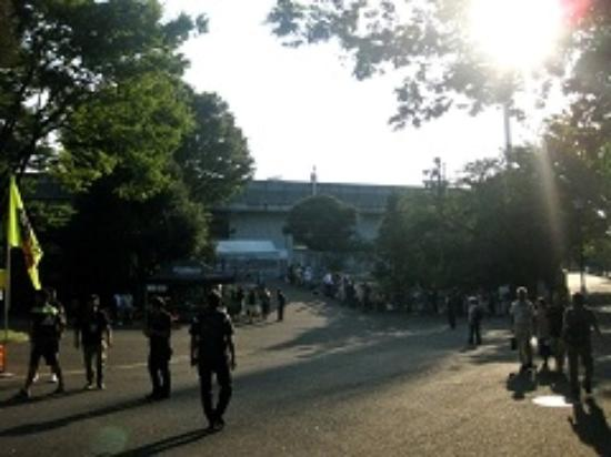 Mitsuzawa Park : 三ツ沢公園
