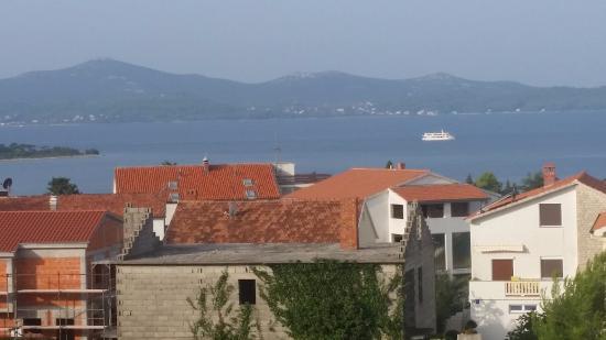 Villa Gravic: Utsikt från vår balkong