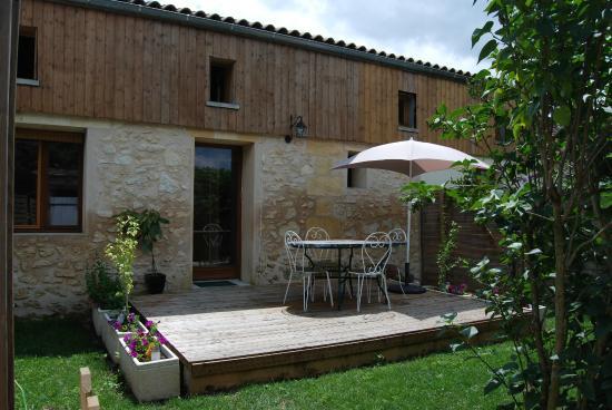 Vignonet, Frankreich: jardin Gîte Suzon