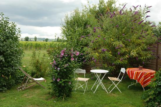 Vignonet, Frankreich: Jardin Côté chambre Camille