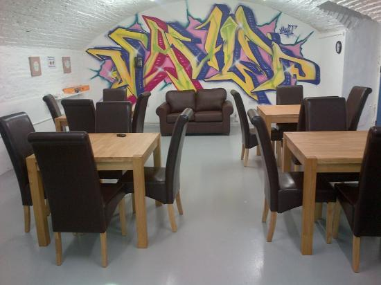 inside the cafe - Picture of The Vault Recovery Cafe