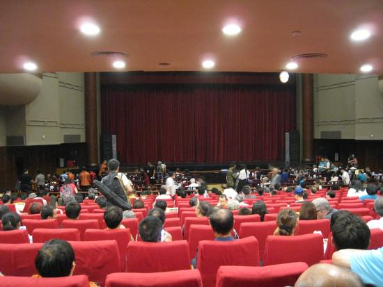 Chang An Grand Theater: 開演前の劇場内