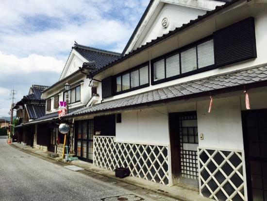 Streets of Shirakabe Dozozukuri