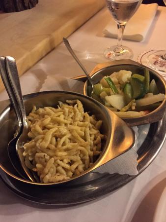 Hotel Restaurant Eifelstube: Spätzle